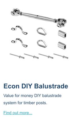Econ-diy-balustrade-system