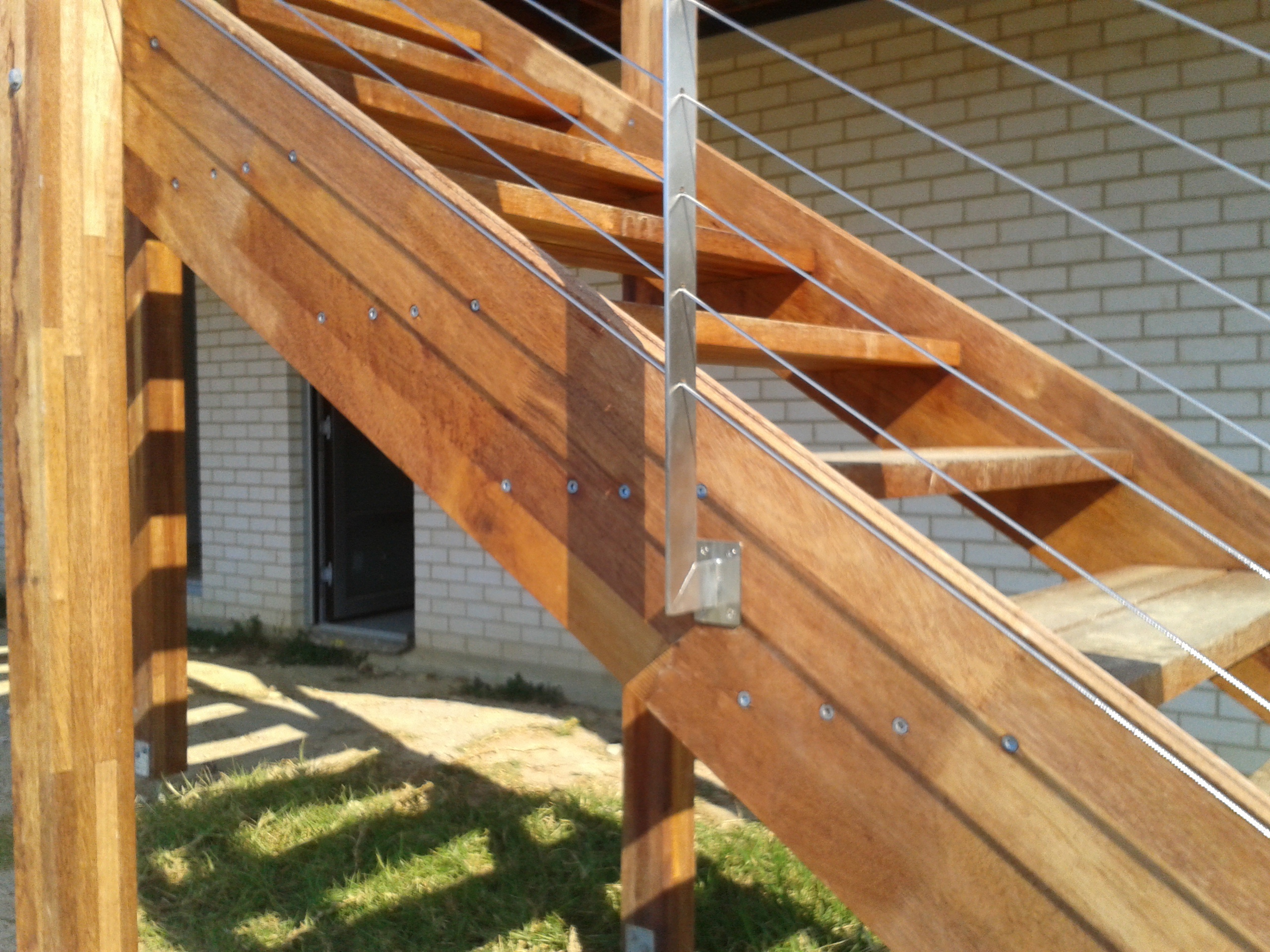 custom stainless steel balustrade posts 2