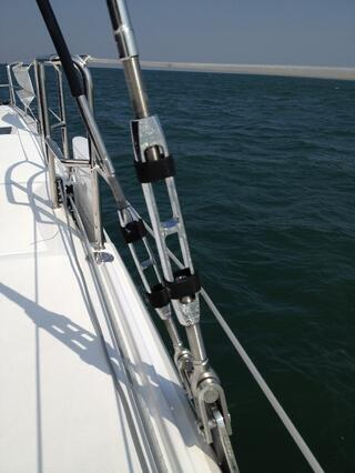 marine swage terminal rigging screw