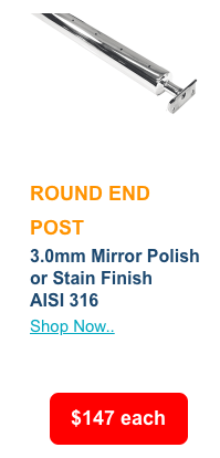 Special-round-end-post