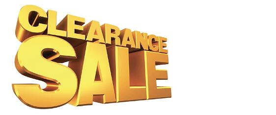 Specials-clearance-overstocked