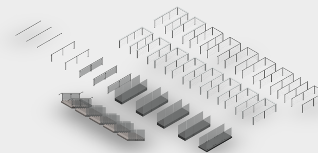 Updated Revit Files For Glass & Wire Railing Systems