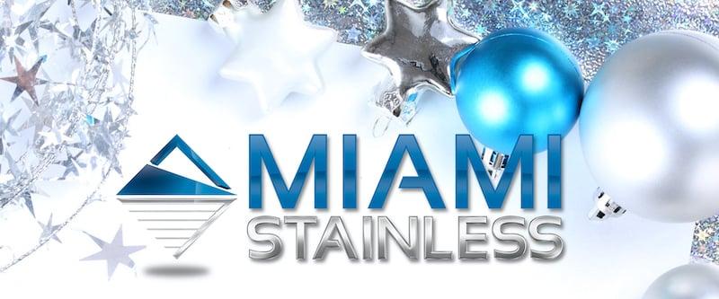 Blue-Miami Stainless Christmas