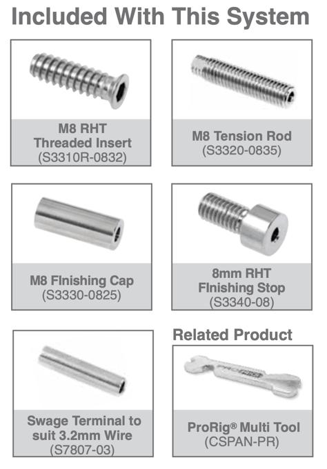 Insert-tension-rod-system