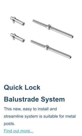 quick-lock-balustrade-system