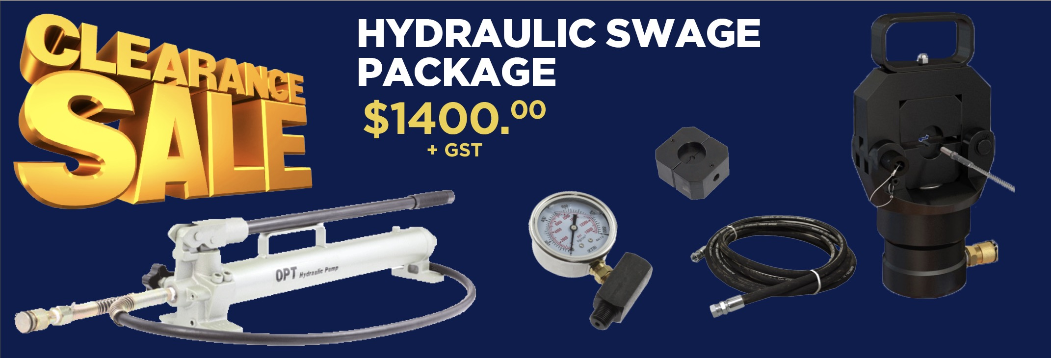 hydraulic=swage=package